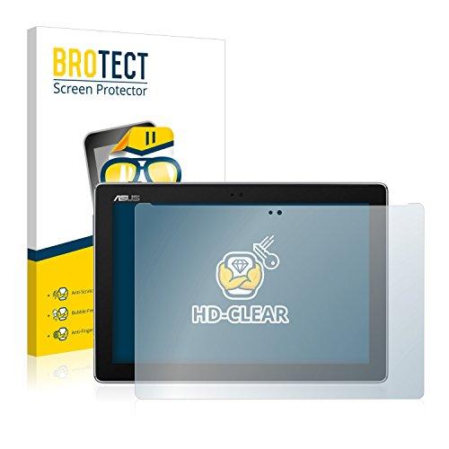 BROTECT Schutzfolie kompatibel mit Asus ZenPad 10 Z301MFL (2 Stück) klare Bildschirmschutz-Folie