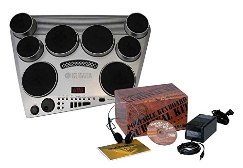 Yamaha DD65 Electronic Drum Pad Premium Package with Headphones, Power Supply,...