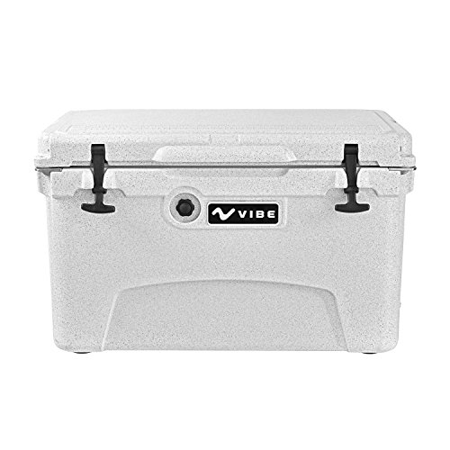 Vibe Kayaks Vibe Element 45Q Cooler with Bottle Opener, Alpine Gray