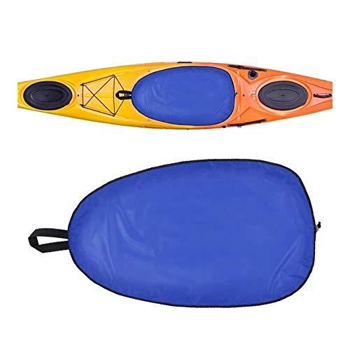 YING-pinghu Kayak Zubehör Bootfahren Wassersport 5 Größe Breath Kajak Cockpit-Abdeckung Kajak Deckeldichtung Cockpit-Schutz Einstellbare Abdeckungs-Schild-Kanu Kajak Zubehör (Color : Blue XL)