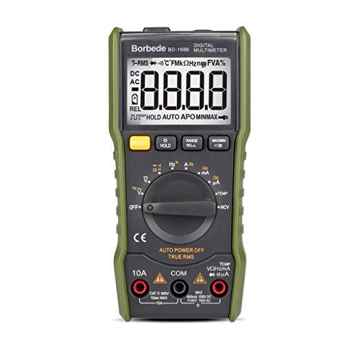 Myya BD-168C Multímetro Digital Portátil 6000 Cuentas Retroiluminación AC/DC Amperímetro Voltímetro Medidor