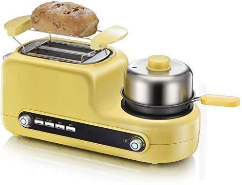 COOLSHOPY Tostadora, Desayuno máquina de múltiples Funciones tostadora, Tortilla, Huevo Cocinero, Tostada, lxhff Conductor