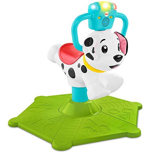 Fisher-Price - Hund Saltella und Gira, Zahlenmarkierung, Farben und vieles mehr, Lernspielzeug für Kinder 12 Monate, GHY07