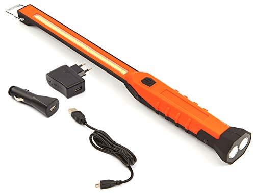 LAMPARA/LINTERNA DE TALLER PORTATIL 3W COB LED ULTRA FINA SLIM RECARGABLE USB ESPECIAL TALLER