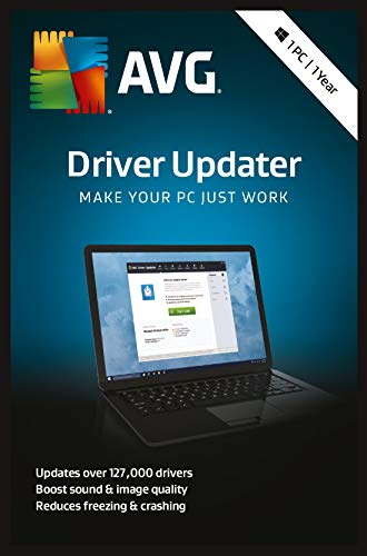 AVG Driver Updater 2019 - 1 PC 1 Year|2019 Standard Edition|1 Device|1 Year|PC|Download