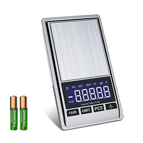 bilancia da cucina 0.01g Bilancia di Precisione 0.01g - Mini Bilancia Milligrammo Precisione Digitale Scale 500g x 0.01g