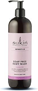 Sukin Sensitive Soap Free Body Wash, 500 ml