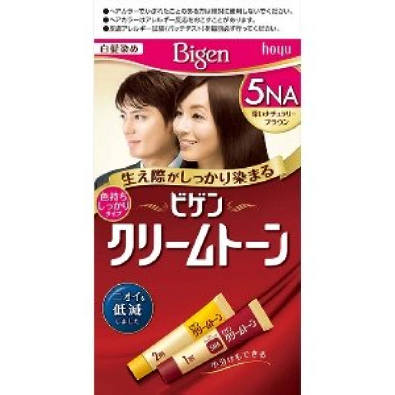 冷凍庫セマフォ多分ビゲン クリームトーン 5NA(深いナチュラリーブラウン) ×6個