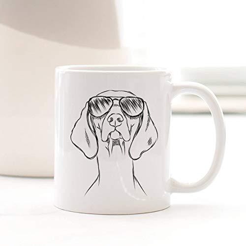 CafePress Dekofigur Hund Leader of The Pack Weihnachtsdekoration rund