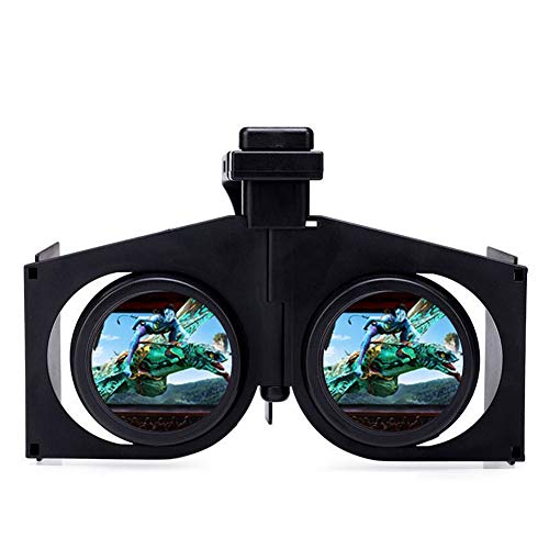 Peyan VR Headset Virtual Reality Headset 3D Glasses, Anti-Blue-Light Lenses, Stereo Headset, for All Length Below 6.3 inch Include All The IOS And Andriod System Phone