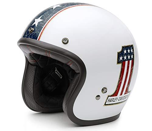 HARLEY-DAVIDSON Americana Retro 3/4 Jet Helm, EC-98311-15E, XL