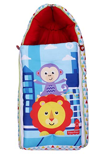 Fisher Price SB02 Multi Utility Convertible Baby Sleeping Bag (Multicolor)
