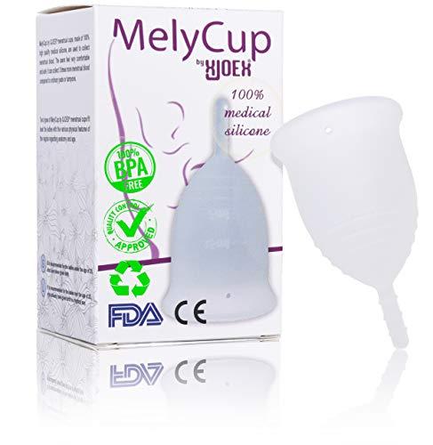 Alternativa Naturale ad Assorbenti e Tamponi Coppetta Mestruale Tazza Riutilizzabile in Silicone per Igiene Femminile,rosa,Taglia S,Coppette Mestruazioni riusabile in silicone,Menstrual Cup