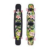 LSF Langes Brett Skateboard Doppel Kippbrett Vierrädrige Doppel Kippbrett for Jungen und Mädchen Anfänger Erwachsene Brush Street (Color : 1)