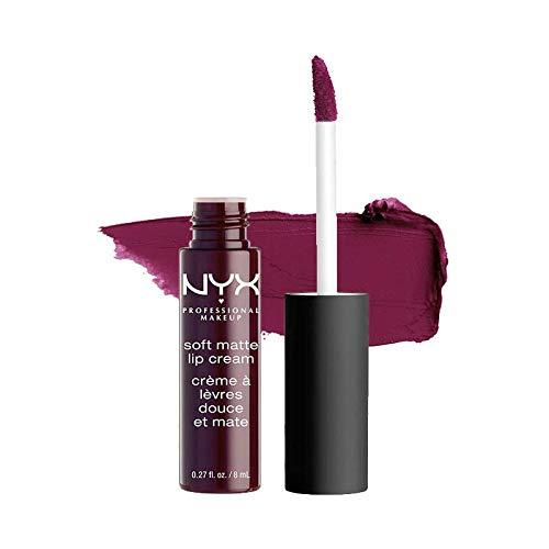 Nyx Professional Makeup - Labial Cremoso Mate - Soft Matte Lip Cream - SFT MATTE LP CRM - TRANSYLVANIA