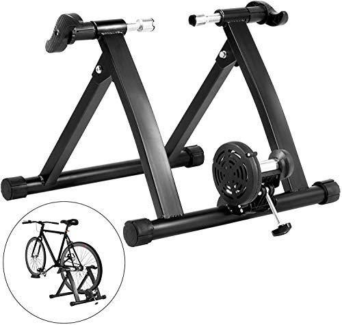 YZPJSQ Fluide Formateur vélo Support 330lbs intérieur résistance à l'écoulement Formateur vélo 750W Entraîneur Indoorcycle Exercice Support for équitation Piscine intérieure Formation et Exercice