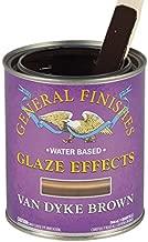 van dyke brown glaze effects