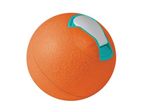 YayLabs! Softshell Ice Cream Ball, Orange, Pint Size