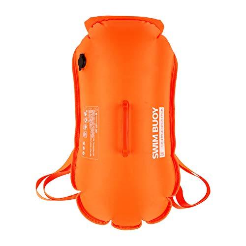 Panii Bolsa seca impermeable de 28/35L, flotador de seguridad para navegación, kayak, pesca, rafting, natación, entrenamiento