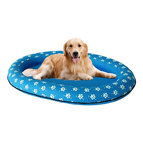 QueenHome Hundepool Mit Portable Swimming Pool Raft Pets Sommerkoole Komfort Raft 2Paw Hund Pool Float Große Schlauchboot Schwimmbad Rafts Spring Float Paddle Paws Hund Pool Float Für Haustiere