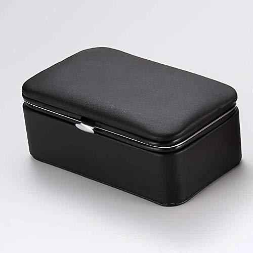 donfhfey827 Pu Leder Reise schmuckschatulle tragbare lagerung schmuck aufbewahrungsbox