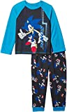 Komar Kids Boy's Sonic Long Sleeve Pajama Set (Little Kids/Big Kids) Blue MD (8 Big Kids)