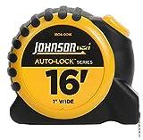 Johnson Level & Tool 1804-0016 16-Foot x 1-Inch Auto-Lock Tape