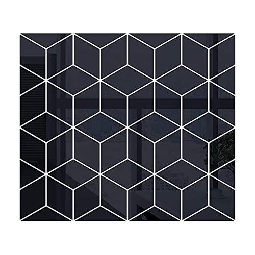etiqueta de la pared mural decoración de la pared Nuevo 3D Espejo Etiqueta de la pared DIY Diamantes Triángulos Pegatinas de pared de acrílico para habitación de niños Habitación Decoración para el