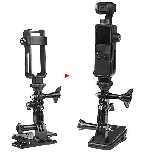 Action Camera framebeschermingsset, 1/4 schroeven behuizing Shell Case rugzak clip fotografie accessoirehouder selfie stick, zuignap, drijfstang, statief, fiets, voor DJI OSMO Pocket Camera