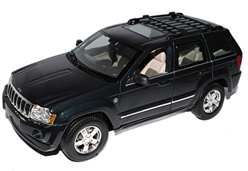 Maisto Jeep Grand Cherokee 2005-2010 Wh GrÜn 1/18 Modellauto Modell Auto