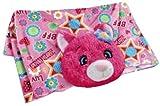 Pillow Pets Blankets - Flower Power Cat Plush Blanket