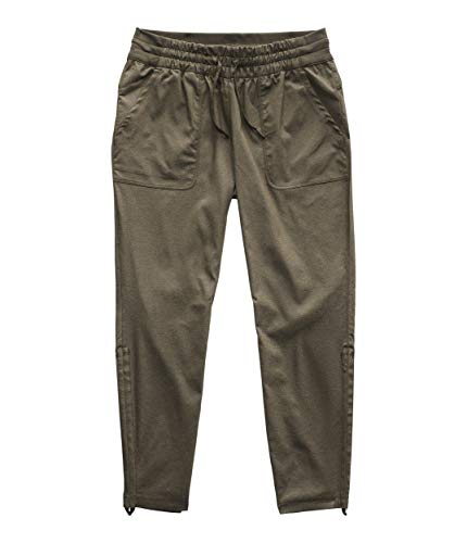 The North Face Women's Aphrodite Motion Pant 2.0, New Taupe Green Heather, Medium