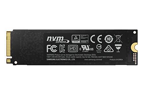 Samsung MZ-V7E500BW 970 EVO 500 GB NVMe M.2 Interne SSD Schwarz