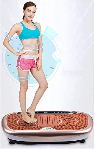 YYCHJU Plataforma Vibratoria Ultra Slim Máquina para Adelgazar Máquina de agitación, Cintura Delgada Estufa Delgada Estufa de estómago Artefacto Pérdida de Peso Equipo de Aptitud