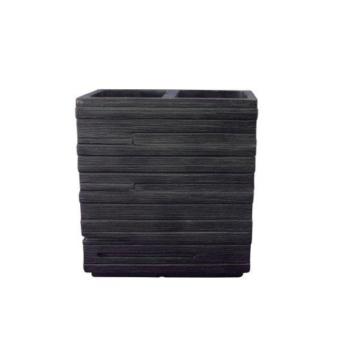 Ridder 22150210 Brick - Vaso para cepillos de Dientes, Color Negro