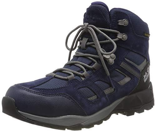 Jack Wolfskin Damen Vojo Hike XT Texapore MID W Wasserdicht Trekking-& Wanderstiefel, Blau (Dark Blue/Purple 1181), 37 EU