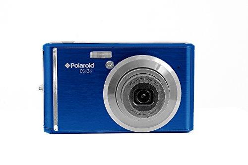 Polaroid Cámara Digital ix828N de BLK 20MP con zoom óptico, 8x Azul