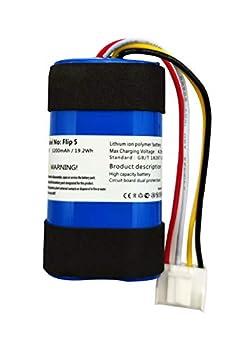 Replacement Battery for JBL FLIP 5 JBLFLIP5WHTAM 1INR19/66-2 ID1060-B