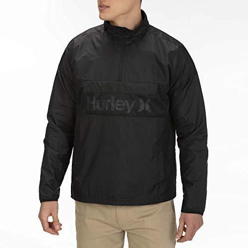 Hurley M Siege Anorak Jacket Giacche, Uomo, Black, L