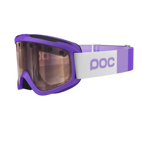 POC Skibrille Iris Stripes, 40042, Mercury Purple,  Regular (Herstellergröße:M )