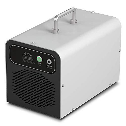 CEXTT Purificadores de Aire generador de ozono comerciales, 3G / h de Aire del purificador de Agua de ozono, esterilizador de O3 hogar, 26x15x16cm