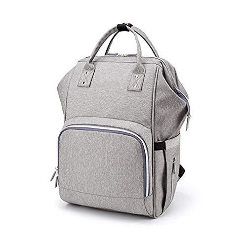 HCC&WHZ Bolsa de pañales de maternidad mochila mamá bolso multifuncional cuidado del bebé bolsa de viaje multifuncional