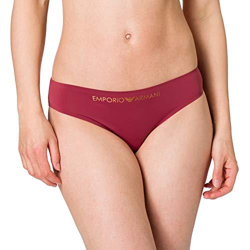 Emporio Armani Underwear Brief Bonding Microfiber Calzoncillos, Granada de Pomelo, XL para Mujer