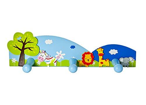 Mousehouse Gifts Crochets Porte Manteaux Safari Jungle pour Une Chambre d'enfant