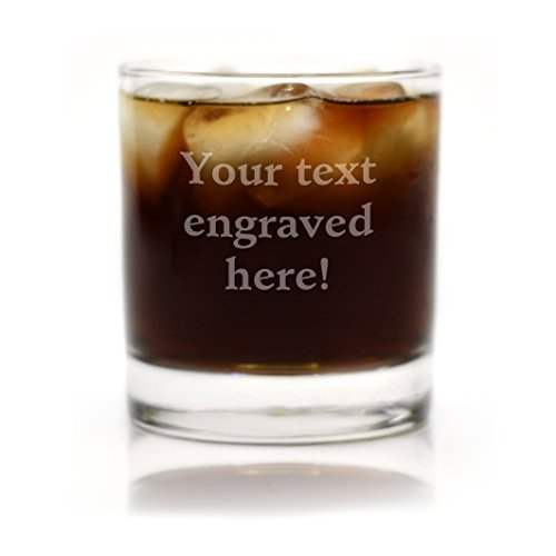 Personalized Cocktail Glass Engraved with Your Custom Text