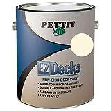 Pettit Ez Decks Nonskid Deck Paint, Quart Off-White