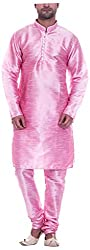 aa8f9140cf Larwa Men's Festive, Wedding Kurta=Pyjami Set