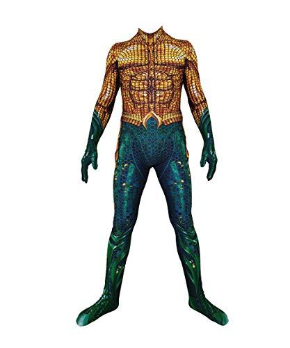 Disfraz de Cosplay de Arthur Curry Aqua-Man Unisex Adultos nios Bug Zentai Bodysuits Fiesta de Halloween Lady Bug Disfraz-Kids-XS
