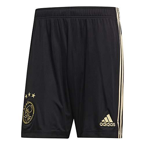 adidas Amsterdam Temporada 2020/21 AJAX 3RD SHO Pantalón Corto Tercera equipación, Unisex, Negro, L