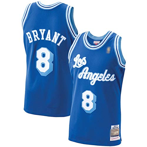 DODE Camiseta de baloncesto personalizada NO.8 Royal,1996-97 Hardwood Classics Player Jersey de secado rápido ropa deportiva para hombres